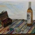 3月の特別カリキュラム  油彩画