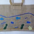 フェルトを使ってバッグをデザイン!