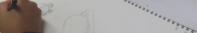 ゆうてつ-銅版画ローラーと絵具制作中