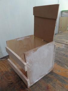 こうたい-木工(とうふハウス)ふたオープン