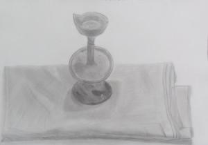 ゆきみ-蝋燭台完成