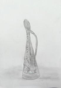 こうたい-細い花瓶