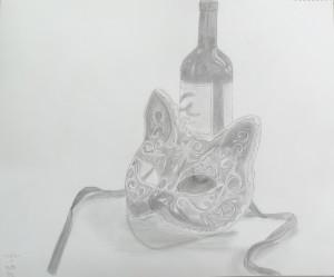 ゆきみ-仮面とビン