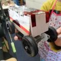 車作り!! 救急車が出来ました。