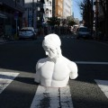 「青空石膏デッサン教室」 吉田町アート&JAZZフェスティバル アートワークショップ