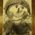 人間の顔(横顔)を描く!