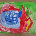 夏のお出かけをテーマに水彩画を描こう!(横浜:こどもアート木曜クラス)